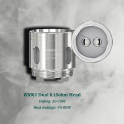 Resistance Dual HM02 015 ohm Gnome - Wismec