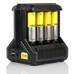Chargeur Accus i8 - Nitecore