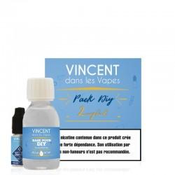 Pack DIY 50/50 100ml - Vincent dans les vapes