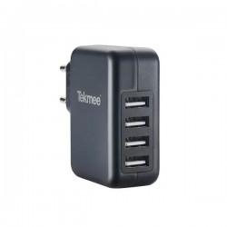 Secteur Mural 4 Ports USB 4.8A - Tekmee