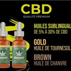 Huile Gold CBD - CBG