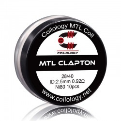Pack 10 MTL Clapton - Coilology