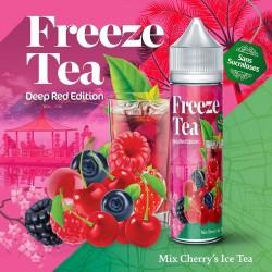 Mix Cherry's Ice tea - FREEZE TEA - Deep Red Collection 50ml
