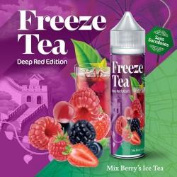 Mix Berry's Ice Tea - FREEZE TEA - Deep Red Collection 50ml