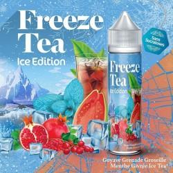 Goyave Grenade Groseille Menthe Givré Ice Tea - Freeze Tea Ice 50ml