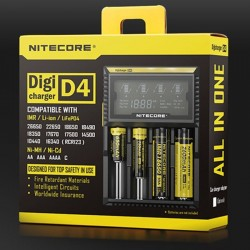 Chargeur Accus Nitecore D4